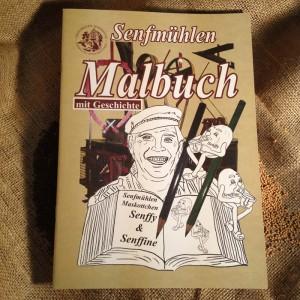 Senfmühlen-Malbuch